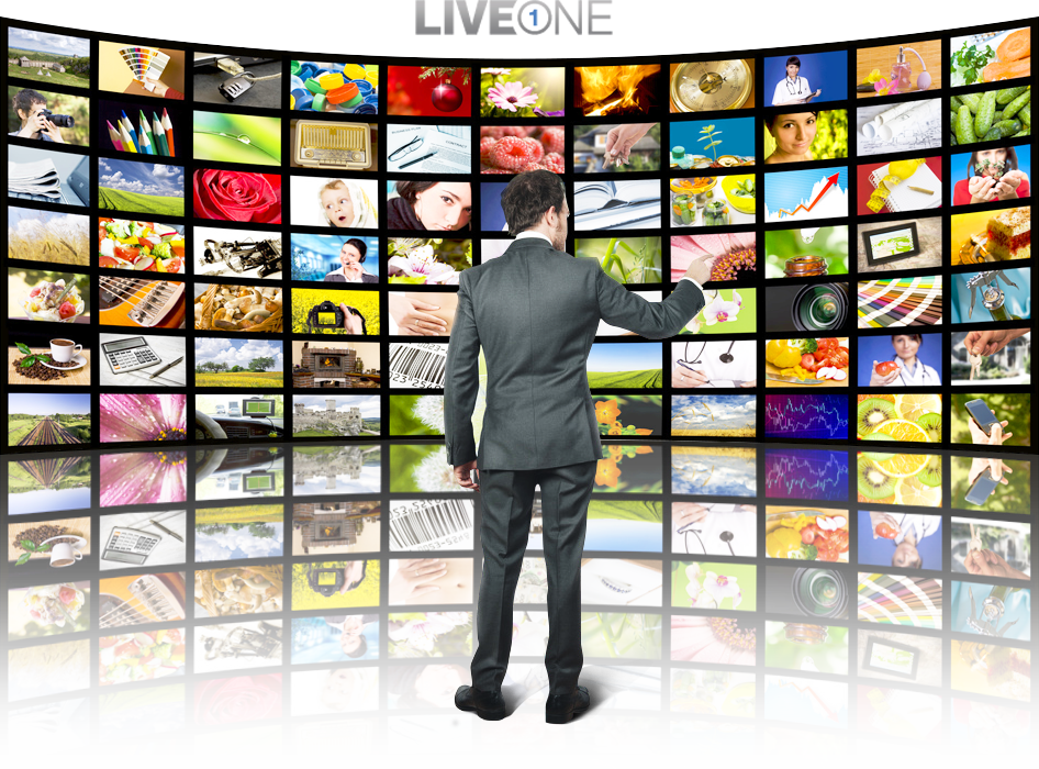 Splash image LiveOne Group - Streaming Video